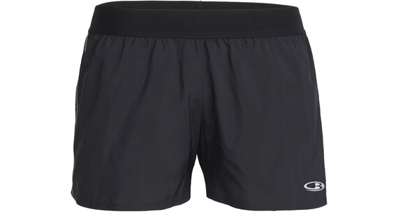 Icebreaker W's Comet Shorts Black/White